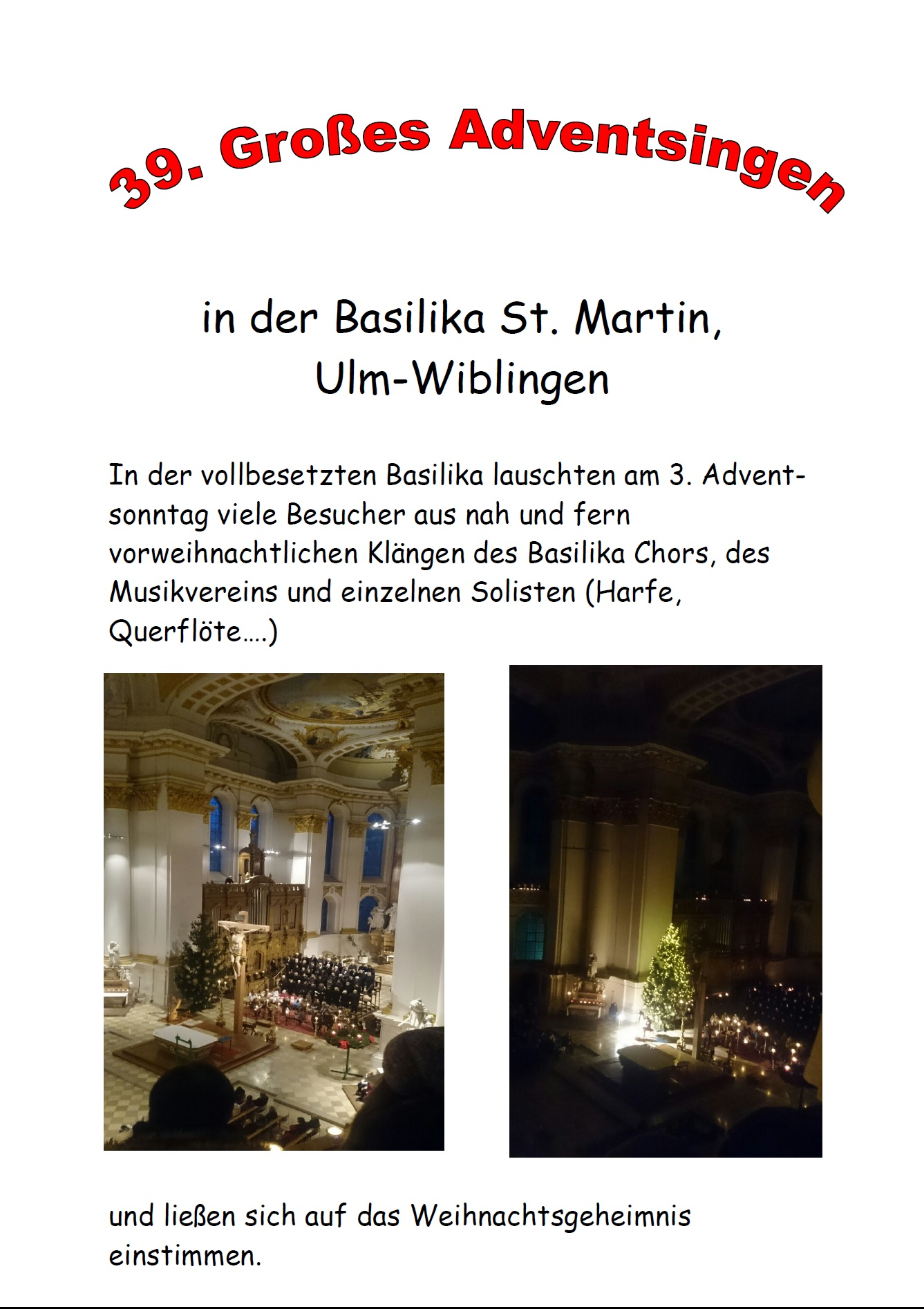 Adventsingen 2015 - 6
