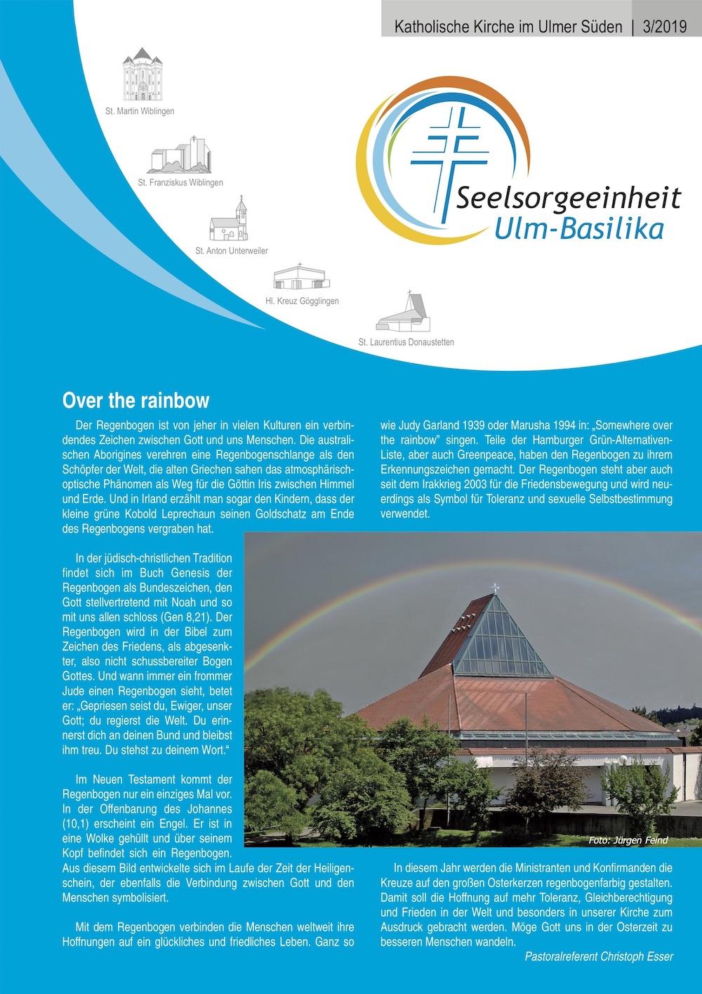 Katholische Kirche im Ulmer Süden 3 -2019
